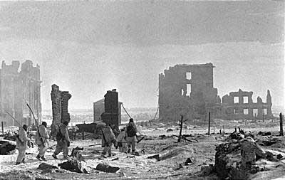 Сталинград после освобождения. Фото с сайта users.pandora.be/stalingrad/